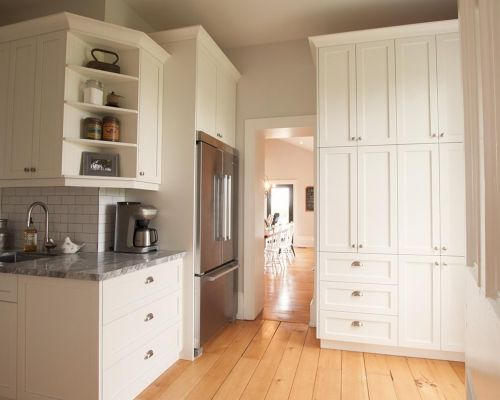 Kitchen trim renovation Southern Ontario