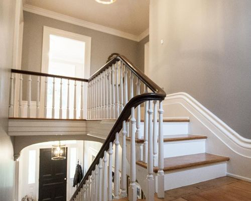 staircase trim renovation Southern Ontario