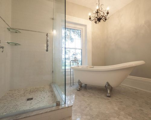 soaker tub bathroom renovation Southern Ontario