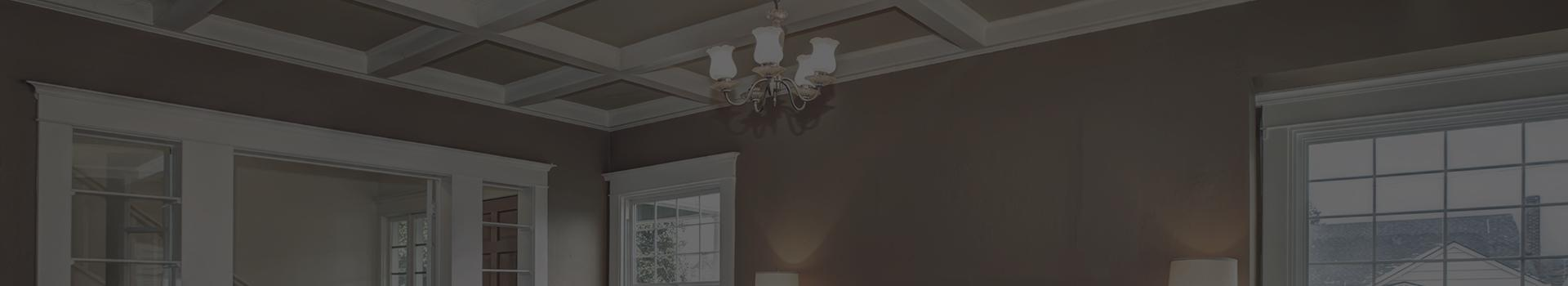 House ceiling trim Southern Ontario