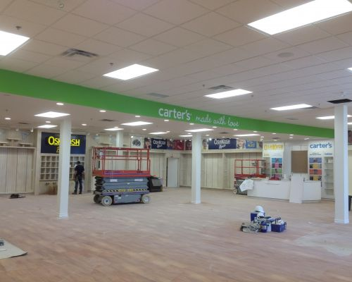 oshkosh carters store drywall Southern Ontario